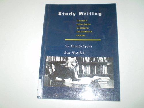 Study Writing By Liz Hamp-Lyons