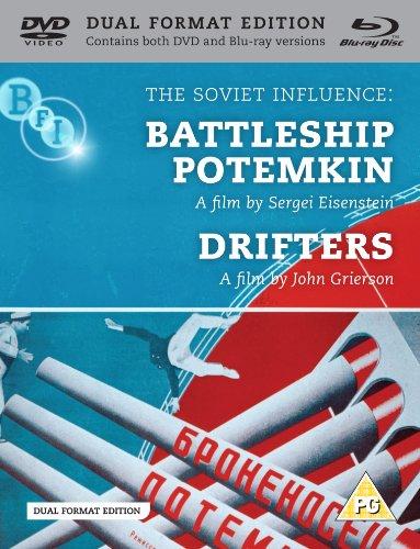 The Soviet Influence: Battleship Potemkin + Drifters (DVD & Blu-ray)