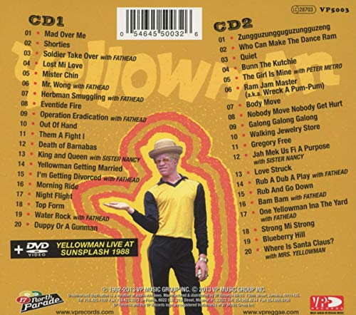 Yellowman - Young, Gifted and Yellow: Reggae Anthology By Yellowman