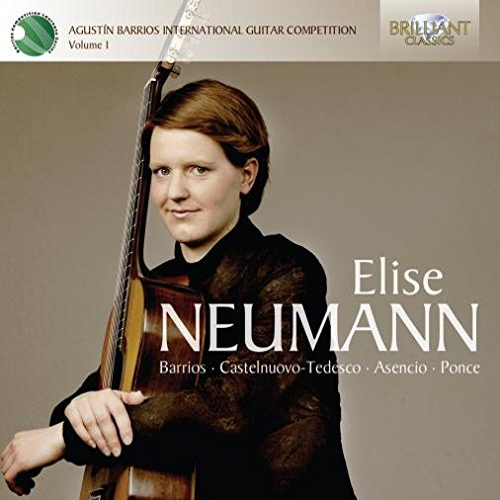 Elise Neumann - Elise Neumann - winner of the International Barrios Guitar Competition