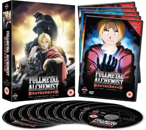 Fullmetal Alchemist Brotherhood Complete Series Collection (Episodes 1-64)