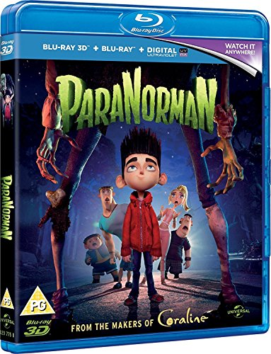 ParaNorman (Blu-ray 3D + Blu-ray + DVD + Digital Copy + UV Copy)