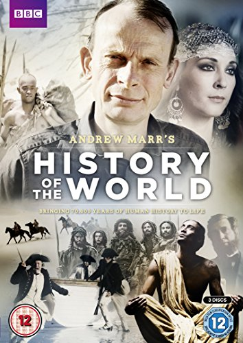 Andrew-Marr-039-s-History-of-the-World-DVD-CD-BEVG-FREE-Shipping