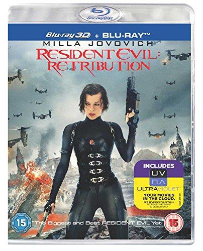 Resident Evil: Retribution (Blu-ray 3D + Blu-ray + UV Copy)