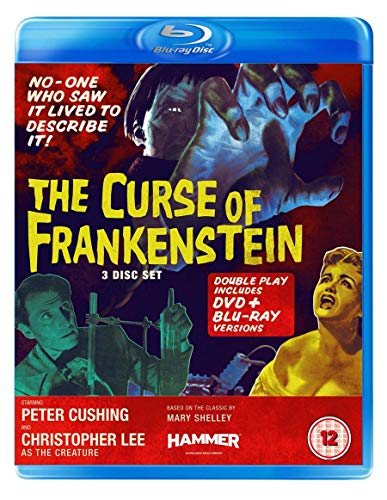 The Curse of Frankenstein (Blu-ray + DVD)
