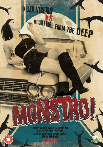 MONSTRO-Monster-Pictures-DVD-CD-7OVG-FREE-Shipping