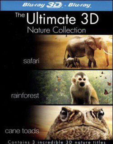 The Ultimate 3D Nature Collection (Safari 3D, Rainforest 3D, Cane Toads 3D: The Conquest) (Blu-ray 3
