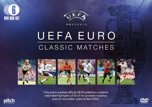 UEFA EURO Classic Matches (6 DVD BOXSET) Highlights from 30 Classic Matches
