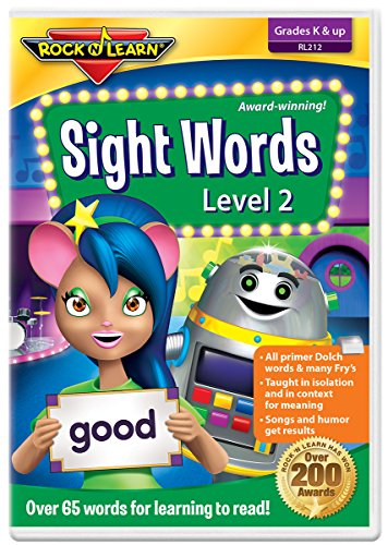 Rock and Learn Sight Words Level 2