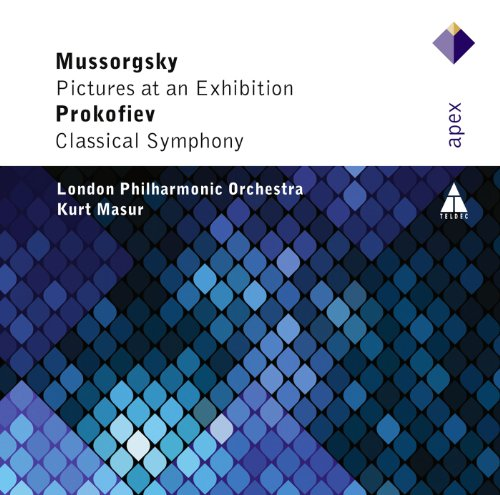 Kurt Masur - Mussorgsky / Prokofiev: Pictures at an Exhibition / Symphonie Classique By Kurt Masur
