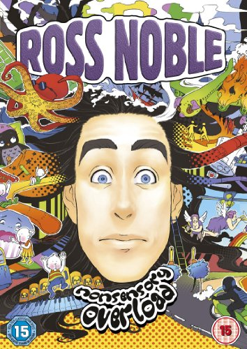 Ross-Noble-Nonsensory-Overload-DVD-CD-QMVG-FREE-Shipping