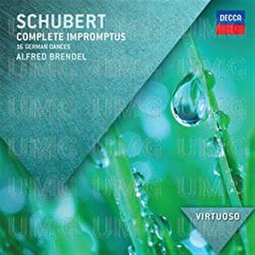 Schubert: Impromptus (Virtuoso series) By Alfred Brendel