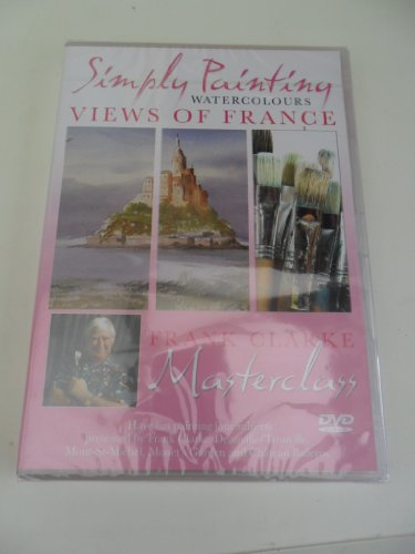Simply-Painting-Watercolours-Views-of-France-DVD-Frank-Clarke-Mast-CD-1EVG