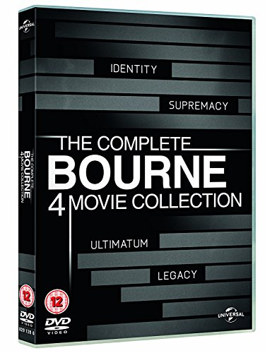 The Complete Bourne 4-Movie Collection