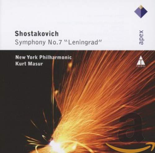 Kurt Masur - Shostakovich: Symphony No7 'Leningrad' By Kurt Masur