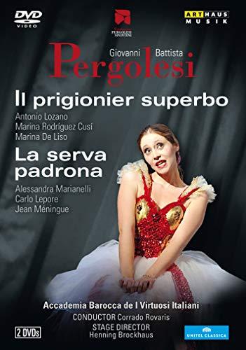 Pergolesi: Il Prigionier; Serva Padrona [Antonio Lozano; Marina Rodríguez Cusí; Marina de Liso; Acca