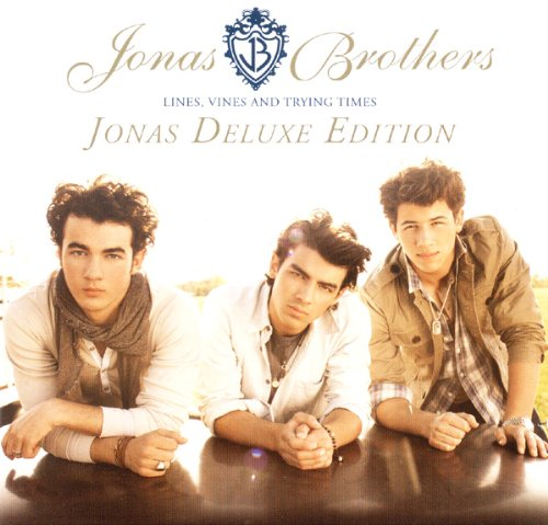 Jonas Brothers - Lines, Vines And Trying Times - Jonas Deluxe Edition - 1 Cd + 1 Dvd By Jonas Brothers