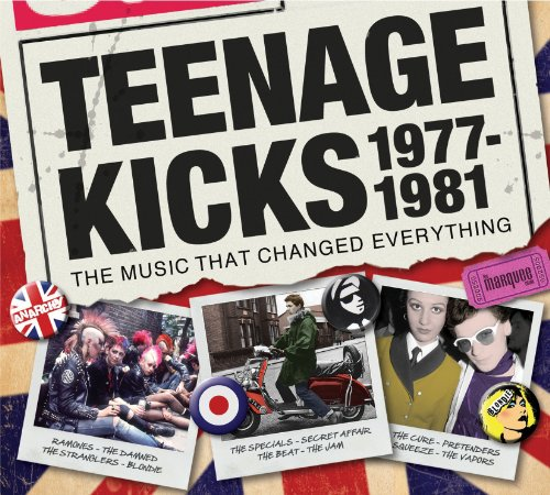 Various Artists - Teenage Kicks 1977-1981 The Music That Changed Everything