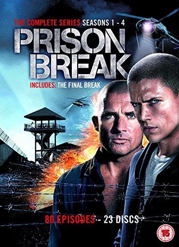 Prison Break - Complete Season 1-4 (New Packaging)