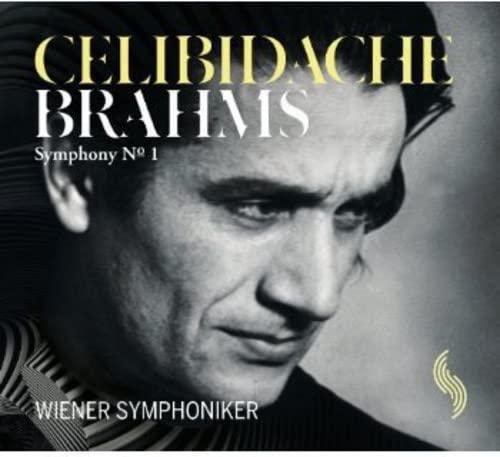 Wiener Symphoniker - Brahms: Symphony No. 1 (Wiener Symphoniker/ Celibidache) (WS 002) By Wiener Symphoniker
