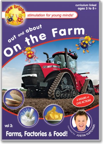 bee bright - Out & About on the Farm - Farms, Factories & Food! - Justin Fletcher