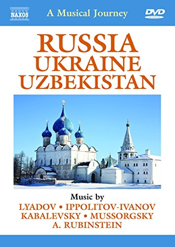 Musical Journey Through Russia (Slovak Philharmonic Orchestra) (Naxos DVD Travelogue: 2110295) [2012