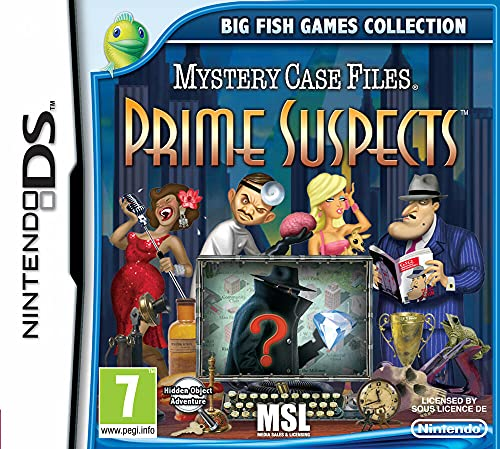 Mystery Case Files: Prime Suspects (Nintendo DS/3DS)