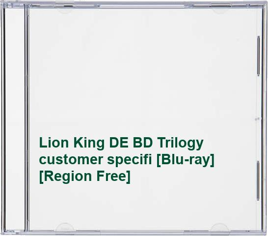 Lion King DE BD Trilogy customer specifi