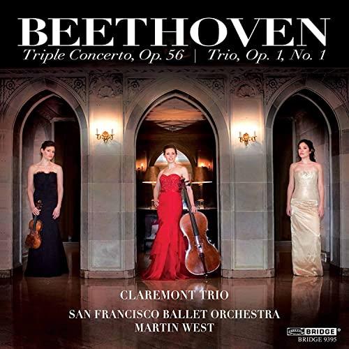 Claremont Trio - Beethoven: Triple Concerto (Piano Trio E Flat Major) (Claremont Trio) (Bridge Recor By Claremont Trio