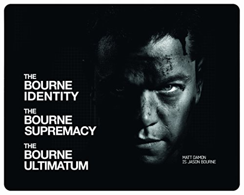 The Bourne Trilogy - Steelbook - Universal 100th Anniversary Edition