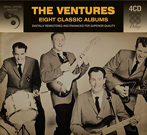The Ventures - 8 Classic Albums  The Ventures By The Ventures