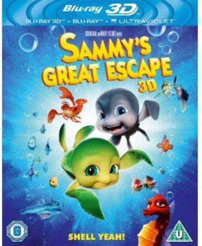 Sammy?s Great Escape (Blu-ray 3D + Blu-ray + UV Copy)