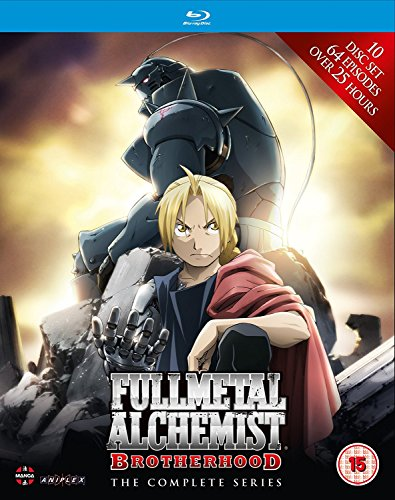 Fullmetal Alchemist Brotherhood - Complete Series Box Set (Episodes 1-64)