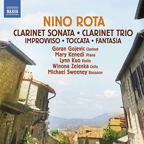 Michael Sweeney - Rota: Clarinet Sonata and Trio [Mary Kenedi, Winona Zelenka, Goran Gojevic, Lynn K By Michael Sweeney