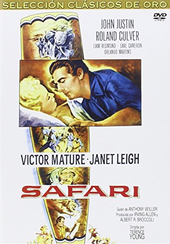 Safari (1956) - Official Region Free PAL release, plays in English without subtitles