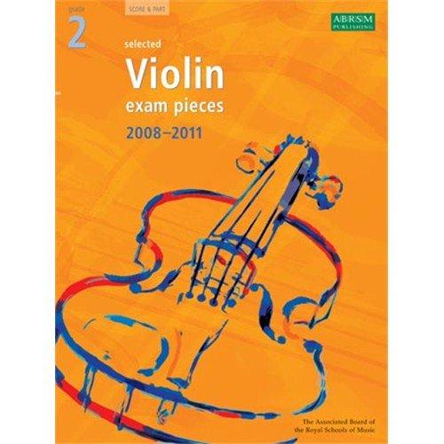 ABRSM Violin Examination Pieces: Grade 2 (2008-2011). Sheet Music for Violin, Piano Accompaniment By ABRSM