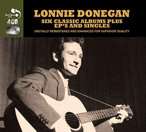 Lonnie Donegan - 6 Classic Albums Plus Bonus EPs And Singles  Lonnie Donegan