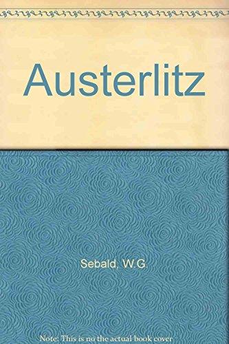 Austerlitz By W. G. Sebald