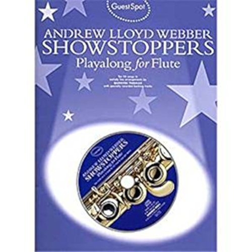 Guest Spot: Andrew Lloyd Webber Showstoppers Playalong For Flute - CD, Sheet Music By Andrew Lloyd Webber