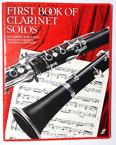 First Book Of Clarinet Solos (B Flat Edition). Sheet Music for Clarinet, Piano Accompaniment By John Davies