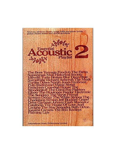 Essential Acoustic Playlist 2 Sheet Music For Lyrics Chordswith