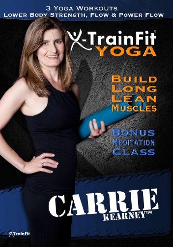 X-TrainFit Yoga - Carrie Kearney 3 Workout Set + Meditation