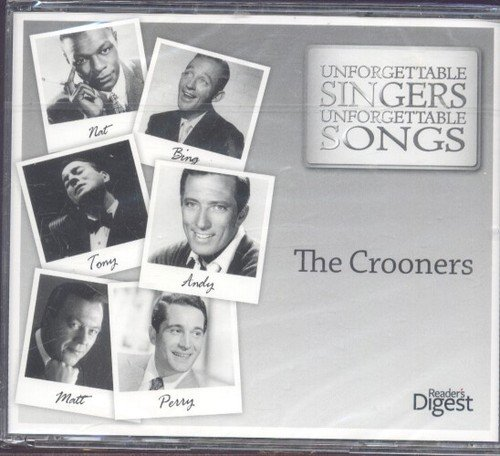 The Crooners - Unforgettable Singers Unforgettable Songs - The Crooners Reader's Digest 3CD