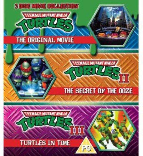 Teenage Mutant Ninja Turtles - The Movie Collection - 3 Disc Set (Teenage Mutant Ninja Turtles/Secre
