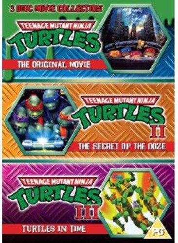 Teenage Mutant Ninja Turtles - The Movie Collection: 3DVD Set (Teenage Mutant Ninja Turtles/Secret O