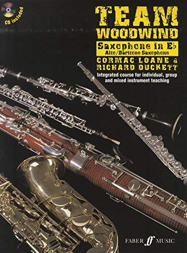 Team Woodwind: Saxophone in Eb (Alto/Baritone) Book & CD - Sheet Music Tutor By Richard Duckett