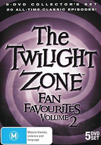 The Twilight Zone Fan Favourites ~ Vol 2 (5DVDS) 20 Episodes (PAL) (REGION 0)