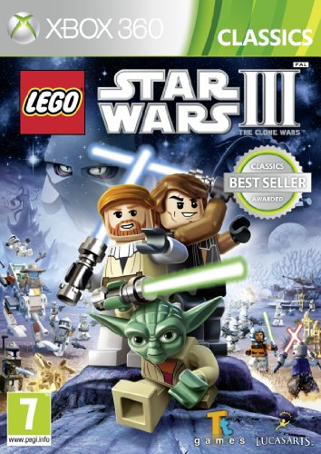 LEGO Star Wars III Clone Wars (Xbox 360)