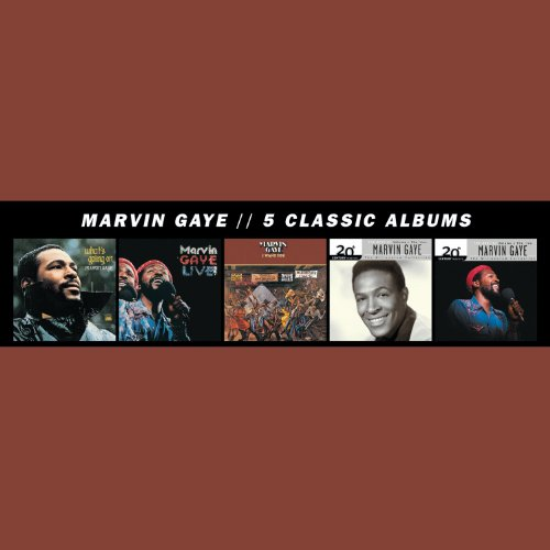 Marvin Gaye - 5 Classic Albums