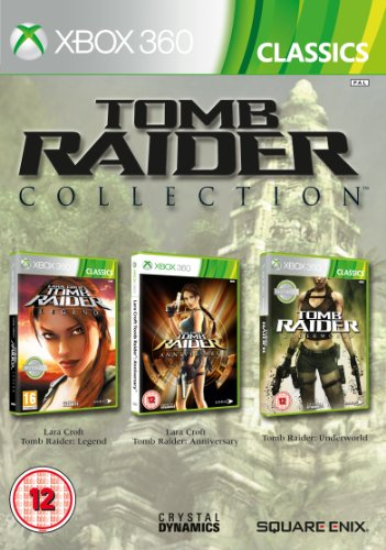 Tomb Raider Legend/Anniversary and Underworld Triplepack (Xbox 360)